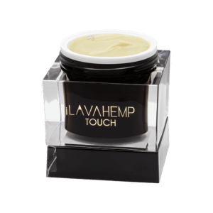 iLAVAHEMP TOUCH JAR - Topical CBD Cream from full spectrum hemp extract and 11 high-quality essential oils