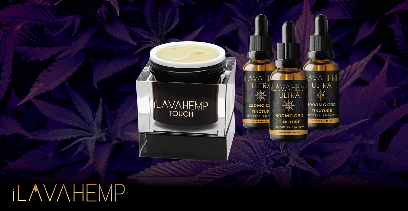 CBD cream and CBD tinctures from ilavahemp