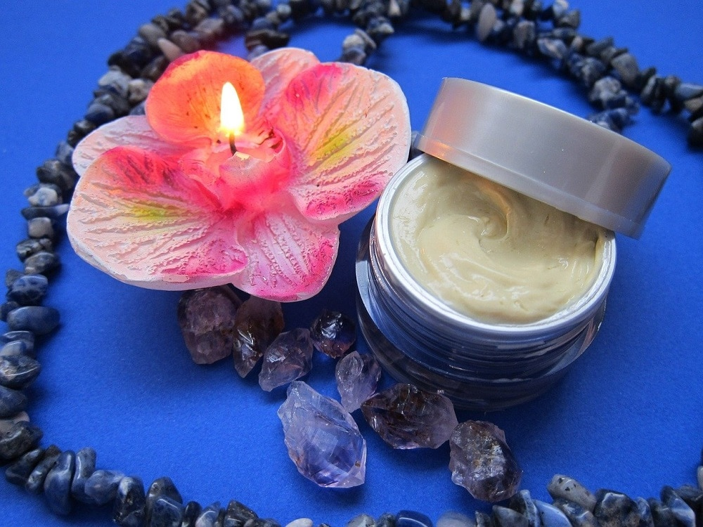 Organic cream for acne