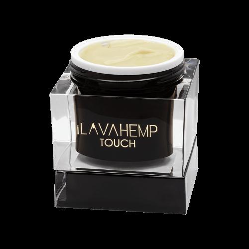 iLAVAHEMP TOUCH JAR - Topical CBD Cream from full spectrum hemp extract and 11 high-quality essential oils